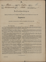 Popis prebivalstva 31. 12. 1869<br />Občina Trebnje<br />Blato 13<br />Population census 31 December 1869<br />Municipality Trebnje
