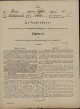 Popis prebivalstva 31. 12. 1869<br />Občina Trebnje<br />Blato 2<br />Population census 31 December 1869<br />Municipality Trebnje