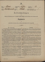 Popis prebivalstva 31. 12. 1869<br />Občina Trebnje<br />Blato 3<br />Population census 31 December 1869<br />Municipality Trebnje