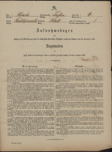 Popis prebivalstva 31. 12. 1869<br />Občina Trebnje<br />Blato 4<br />Population census 31 December 1869<br />Municipality Trebnje