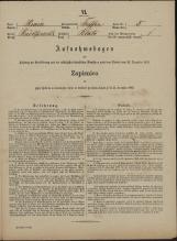 Popis prebivalstva 31. 12. 1869<br />Občina Trebnje<br />Blato 5<br />Population census 31 December 1869<br />Municipality Trebnje