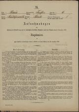 Popis prebivalstva 31. 12. 1869<br />Občina Trebnje<br />Blato 6<br />Population census 31 December 1869<br />Municipality Trebnje