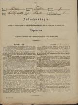 Popis prebivalstva 31. 12. 1869<br />Občina Trebnje<br />Blato 7<br />Population census 31 December 1869<br />Municipality Trebnje