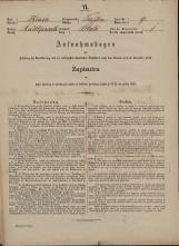 Popis prebivalstva 31. 12. 1869<br />Občina Trebnje<br />Blato 9<br />Population census 31 December 1869<br />Municipality Trebnje