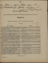 Popis prebivalstva 31. 12. 1869<br />Občina Trebnje<br />Breg in Grm 3<br />Population census 31 December 1869<br />Municipality Trebnje