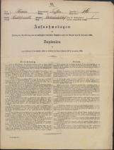 Popis prebivalstva 31. 12. 1869<br />Občina Trebnje<br />Dolenja Nemška vas 16<br />Population census 31 December 1869<br />Municipality Trebnje