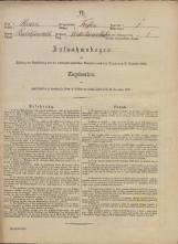 Popis prebivalstva 31. 12. 1869<br />Občina Trebnje<br />Dolenje Medvedje Selo 1<br />Population census 31 December 1869<br />Municipality Trebnje