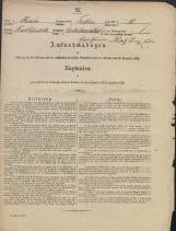 Popis prebivalstva 31. 12. 1869<br />Občina Trebnje<br />Dolenje Medvedje Selo 10<br />Population census 31 December 1869<br />Municipality Trebnje