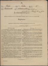Popis prebivalstva 31. 12. 1869<br />Občina Trebnje<br />Dolenje Medvedje Selo 5<br />Population census 31 December 1869<br />Municipality Trebnje