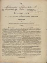 Popis prebivalstva 31. 12. 1869<br />Občina Trebnje<br />Trebnje 13<br />Population census 31 December 1869<br />Municipality Trebnje