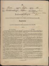 Popis prebivalstva 31. 12. 1869<br />Občina Trebnje<br />Trebnje 16<br />Population census 31 December 1869<br />Municipality Trebnje