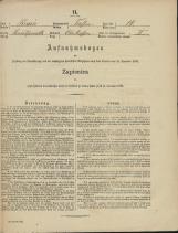 Popis prebivalstva 31. 12. 1869<br />Občina Trebnje<br />Vrhtrebnje 14<br />Population census 31 December 1869<br />Municipality Trebnje