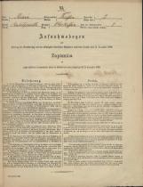 Popis prebivalstva 31. 12. 1869<br />Občina Trebnje<br />Vrhtrebnje 2<br />Population census 31 December 1869<br />Municipality Trebnje