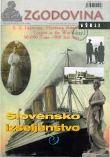 Zgodovina v šoli, 2003, št. 1-2<br />Slovensko izseljenstvo