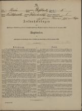 Popis prebivalstva 31. 12. 1869<br />Občina Velika Loka<br />Belšinja vas 5<br />Population census 31 December 1869<br />Municipality Velika Loka