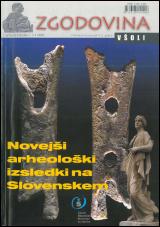 Zgodovina v šoli, 2004, št. 1-2<br />Novejši arheološki izsledki na Slovenskem