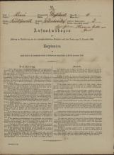 Popis prebivalstva 31. 12. 1869<br />Občina Velika Loka<br />Belšinja vas 6<br />Population census 31 December 1869<br />Municipality Velika Loka