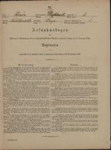 Popis prebivalstva 31. 12. 1869<br />Občina Velika Loka<br />Breza 2<br />Population census 31 December 1869<br />Municipality Velika Loka