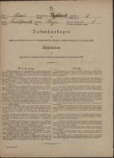 Popis prebivalstva 31. 12. 1869<br />Občina Velika Loka<br />Breza 5<br />Population census 31 December 1869<br />Municipality Velika Loka
