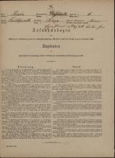 Popis prebivalstva 31. 12. 1869<br />Občina Velika Loka<br />Breza 6<br />Population census 31 December 1869<br />Municipality Velika Loka