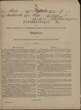 Popis prebivalstva 31. 12. 1869<br />Občina Velika Loka<br />Breza 7<br />Population census 31 December 1869<br />Municipality Velika Loka