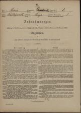 Popis prebivalstva 31. 12. 1869<br />Občina Velika Loka<br />Breza 8<br />Population census 31 December 1869<br />Municipality Velika Loka