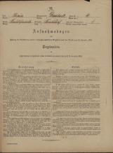 Popis prebivalstva 31. 12. 1869<br />Občina Velika Loka<br />Studenec 4<br />Population census 31 December 1869<br />Municipality Velika Loka