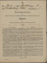 Popis prebivalstva 31. 12. 1869<br />Občina Velika Loka<br />Čatež 13<br />Population census 31 December 1869<br />Municipality Velika Loka