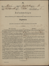 Popis prebivalstva 31. 12. 1869<br />Občina Velika Loka<br />Čatež 14<br />Population census 31 December 1869<br />Municipality Velika Loka