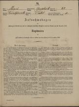 Popis prebivalstva 31. 12. 1869<br />Občina Velika Loka<br />Čatež 22<br />Population census 31 December 1869<br />Municipality Velika Loka