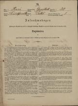 Popis prebivalstva 31. 12. 1869<br />Občina Velika Loka<br />Čatež 30<br />Population census 31 December 1869<br />Municipality Velika Loka