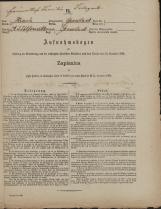 Popis prebivalstva 31. 12. 1869<br />Občina Velika Loka<br />Velika Loka 0<br />Population census 31 December 1869<br />Municipality Velika Loka