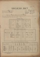 Šolski list (1929)<br />Šolski okraj Radovljica<br />Občina Begunje<br />Begunje<br />Državna mešana osnovna šola Begunje<br />School census (1929)<br />School district Radovljica<br />Municipality Begunje