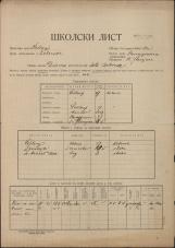 Šolski list (1928)<br />Šolski okraj Šoštanj<br />Občina Sv. Florijan<br />Belevode<br />Državna osnovna šola Belevode<br />School census (1928)<br />School district Šoštanj<br />Municipality Sv. Florijan