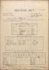 Šolski list (1928)<br />Šolski okraj Kranj<br />Občina Trata<br />Lučine<br />Državna narodna šola v Lučinah<br />School census (1928)<br />School district Kranj<br />Municipality Trata