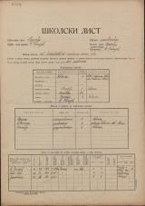 Šolski list (1927-1929)<br />Šolski okraj Prevalje<br />Občina Št. Danijel<br />Št. Danijel<br />Državna dvorazredna mešana osnovna šola<br />School census (1927-1929)<br />School district Prevalje<br />Municipality Št. Danijel