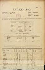 Šolski list (1929)<br />Šolski okraj Novo mesto<br />Občina Bela Cerkev<br />Bela Cerkev<br />Državna osnovna šola v Beli cerkvi<br />School census (1929)<br />School district Novo mesto<br />Municipality Bela Cerkev