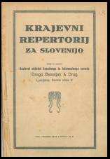 Krajevni repertorij za Slovenijo