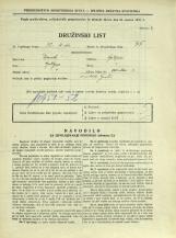 Popis prebivalstva 31. 3. 1931<br />Ljubljana<br />Dvořakova ulica 3<br />Population census 31 March 1931