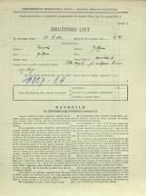 Popis prebivalstva 31. 3. 1931<br />Ljubljana<br />Dvořakova ulica 6<br />Population census 31 March 1931