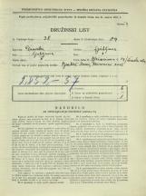 Popis prebivalstva 31. 3. 1931<br />Ljubljana<br />Nunska ulica 15<br />Bleiweisova cesta 19<br />Population census 31 March 1931