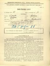 Popis prebivalstva 31. 3. 1931<br />Ljubljana<br />Korytkova ulica 18<br />Population census 31 March 1931