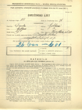 Popis prebivalstva 31. 3. 1931<br />Ljubljana<br />Korytkova ulica 20<br />Population census 31 March 1931