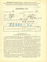 Popis prebivalstva 31. 3. 1931<br />Ljubljana<br />Korytkova ulica 23<br />Population census 31 March 1931