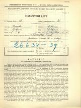 Popis prebivalstva 31. 3. 1931<br />Ljubljana<br />Korytkova ulica 25<br />Population census 31 March 1931