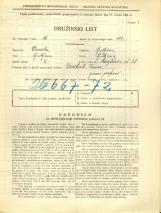 Popis prebivalstva 31. 3. 1931<br />Ljubljana<br />Korytkova ulica 28<br />Population census 31 March 1931