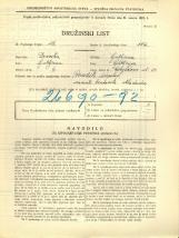 Popis prebivalstva 31. 3. 1931<br />Ljubljana<br />Korytkova ulica 30<br />Population census 31 March 1931