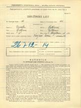 Popis prebivalstva 31. 3. 1931<br />Ljubljana<br />Korytkova ulica 34<br />Population census 31 March 1931