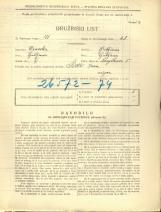 Popis prebivalstva 31. 3. 1931<br />Ljubljana<br />Korytkova ulica 5<br />Population census 31 March 1931