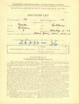 Popis prebivalstva 31. 3. 1931<br />Ljubljana<br />Koseskega ulica 22<br />Population census 31 March 1931
